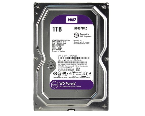 HDD 1Tb Western Digital WD10PURZ