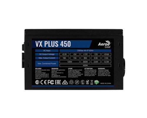 Блок питания Aerocool VX PLUS 450
