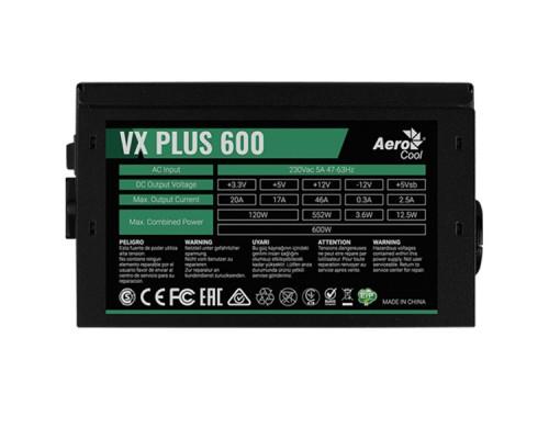 Блок питания Aerocool VX PLUS 600
