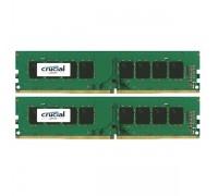 16GB KIT (2x8Gb) DDR4 2400MHz Crucial CT2K8G4DFS824A