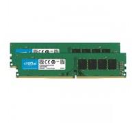 8GB KIT (4Gbx2) DDR4 2400MHz Crucial CT2K4G4DFS824A