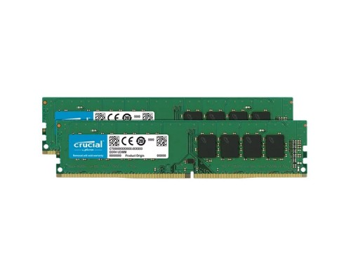 16GB KIT (2x8Gb) DDR4 2666MHz Crucial CT2K8G4DFS8266