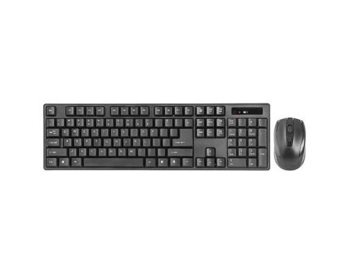 Комплект беспроводной клавиатура+мышь Defender Berkeley C-915 RU черный