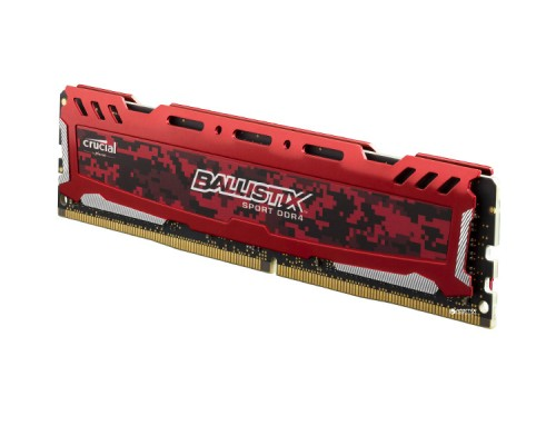 4GB DDR4 2400MHz Crucial Ballistix Sport LT Red BLS4G4D240FSE