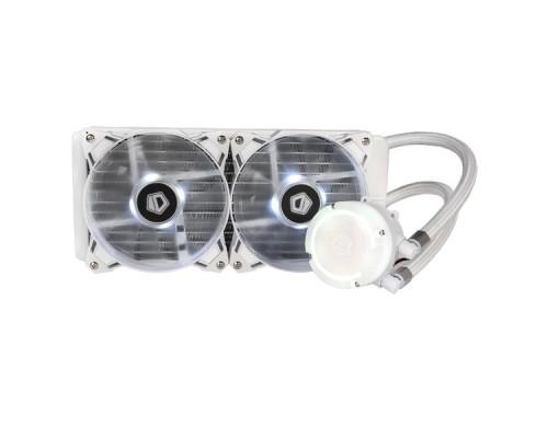 Водяное охлаждение ID-Cooling AURAFLOW 240 SNOW