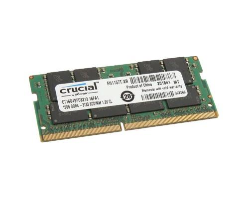 16GB DDR4-2133Mhz Crucial CT16G4SFD8213