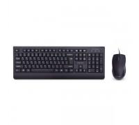 Комплект Клавиатура + Мышь Delux DLD-6075OUB черный