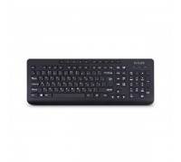 Клавиатура проводная Delux DLK-02UB черный
