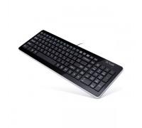 Клавиатура проводная Delux DLK-1500UB черный
