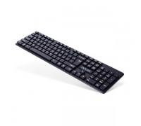 Клавиатура беспроводная Delux DLK-150GB черный
