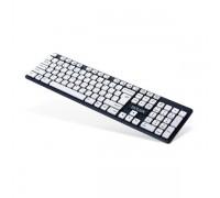 Клавиатура беспроводная Delux DLK-150GW черный