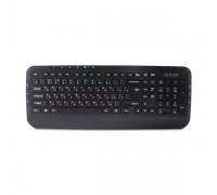 Клавиатура проводная Delux DLK-160UB черный
