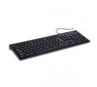 Клавиатура проводная Delux DLK-180UB черный