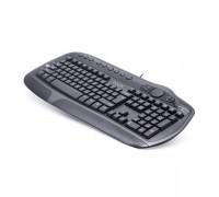 Клавиатура проводная Delux DLK-9050UB черный