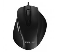 Мышь проводная Delux DLM-517OUB