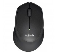Мышь беспроводная Logitech M330 Silent Plus Black (910-004909)