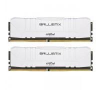 Оперативная память 16GB KIT (2x8Gb) Crucial Ballistix Gaming White BL2K8G32C16U4W
