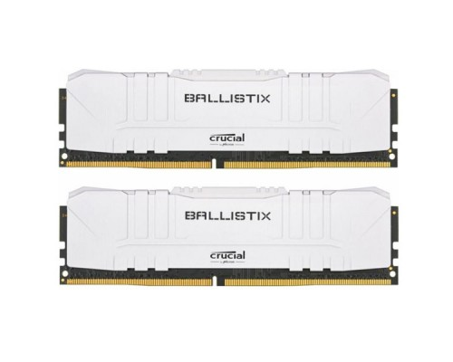 Оперативная память 16GB KIT (2x8Gb) Crucial Ballistix Gaming White BL2K8G32C16U4W