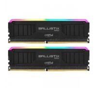 Оперативная память 16GB KIT (2x8Gb) Crucial Ballistix RGB Gaming Black BL2K8G30C15U4BL