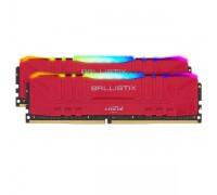 Оперативная память 16GB KIT (2x8Gb) Crucial Ballistix RGB Gaming Red BL2K8G30C15U4RL