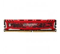 Оперативная память 8GB Crucial Ballistix Sport LT Red BLS8G4D32AESEK