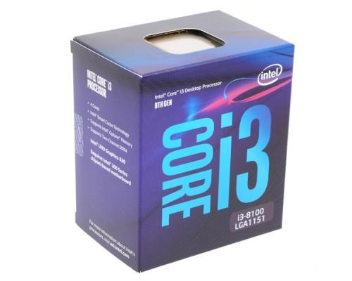 CPU Intel Core i3 8100 BOX