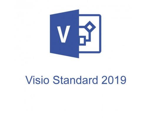 Visio Std 2019 Win All Lng PKL Online DwnLd C2R NR (ESD) (D86-05822)