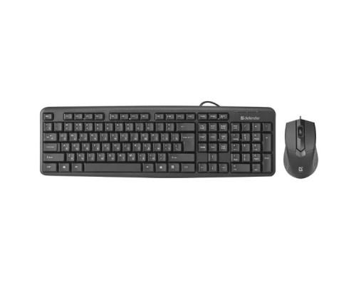 Комплект проводной клавиатура+мышь Defender Dakota C-270 KZ