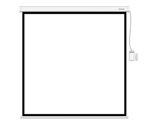 Экран моторизированный (с пультом Д/У), Deluxe, DLS-ERC203x153W