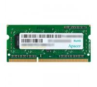 Модуль памяти для ноутбука, Apacer, DDR3, 4GB (DS.04G2K.KAM)