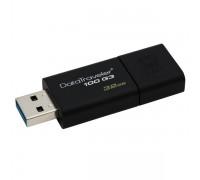 USB Флеш 32GB 3.0 Kingston DT100G3/32GB черный
