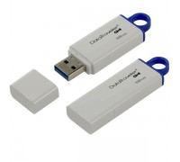 USB Флеш 16GB 3.0 Kingston DTIG4/16GB белый
