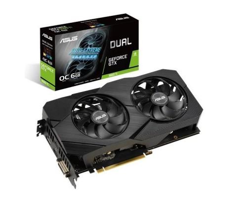 Видеокарта ASUS GeForce GTX1660Ti DUAL-GTX1660TI-O6G-EVO