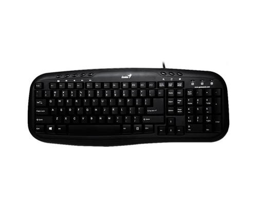 Комплект Клавиатура + Мышь, Genius, KM-210