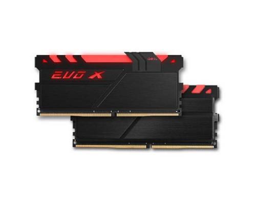 Оперативная память 16GB Kit (2x8GB) GEIL EVO X GEXB416GB2400C16DC