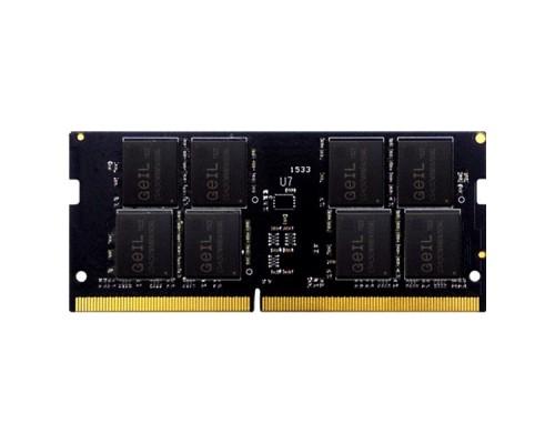 Оперативная память для ноутбука 4Gb DDR4 GEIL GS44GB2666C19SC