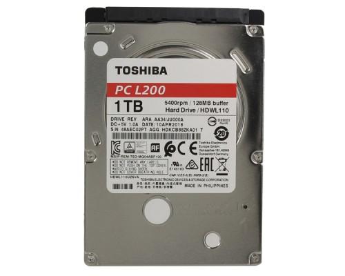 Жесткий диск для ноутбука TOSHIBA 1Tb HDWL110UZSVA