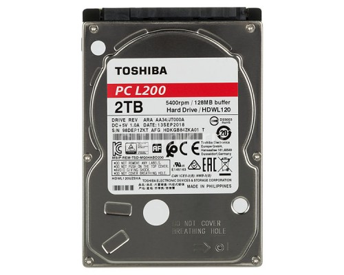 Жесткий диск для ноутбука TOSHIBA 2Tb HDWL120UZSVA