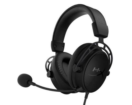 Гарнитура, HyperX, Cloud Alpha S Black, HX-HSCAS-BK/WW