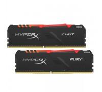 Комплект модулей памяти, Kingston, HyperX Fury RGB HX426C16FB3AK2/16