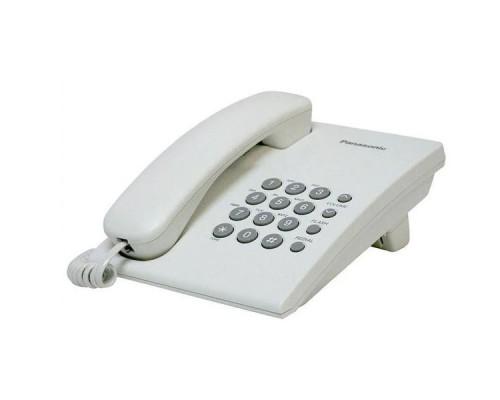 Телефон проводной Panasonic KX-TS2350CAW
