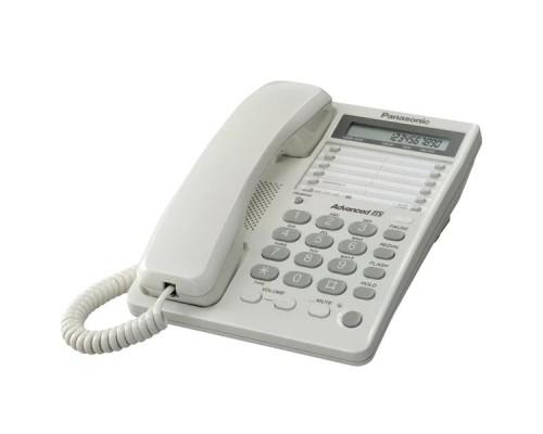 Телефон проводной Panasonic KX-TS2362RUW