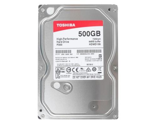 HDD 500Gb TOSHIBA P300 HDWD105UZSVA