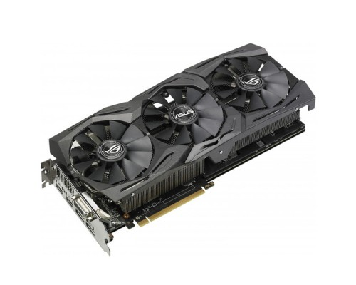Видеокарта 8Gb ASUS ROG-STRIX-RX580-T8G-GAMING