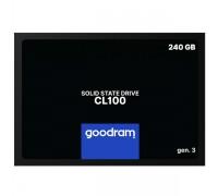 SSD 240GB GOODRAM CL100 Gen.3 SSDPR-CL100-240-G3