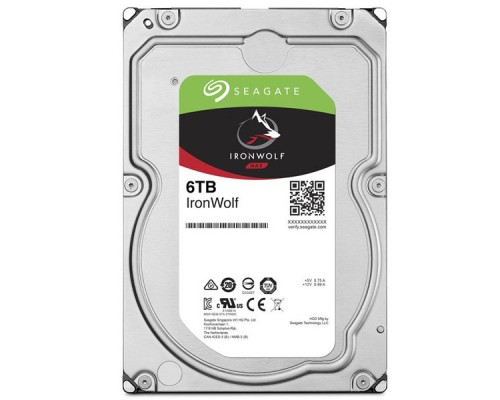 HDD 6Tb Seagate IronWolf ST6000VN001