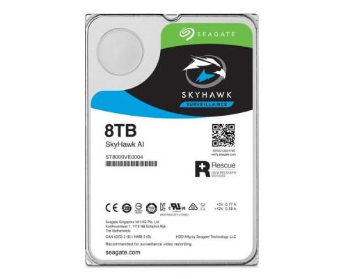 Жесткий диск 8Tb Seagate SkyHawk AI Survelilance ST8000VE0004
