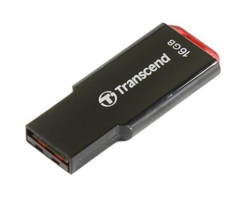 USB Флеш 16GB 2.0 Transcend TS16GJF310 черный