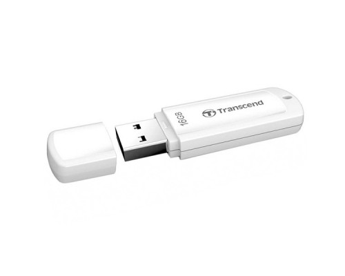 USB Флеш 16GB 2.0 Transcend TS16GJF370 белый