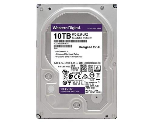 HDD 10Tb Western Digital Purple Surveillance WD102PURZ